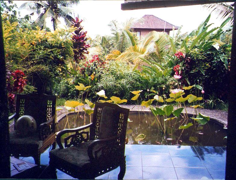 Indonésie, Bali chez J.P de l'intérieur FAIT