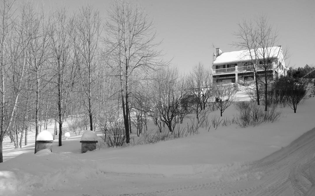 4 Dunham portitque hiver